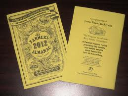 2012 Farmers Almanac