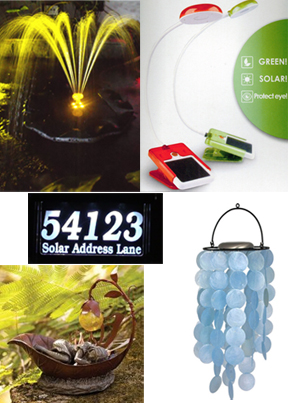 Solar Gift Ideas for People with Everything