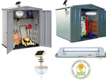 Solar Lights for Sheds, Barns, Greenhouses and Other Outbuildings