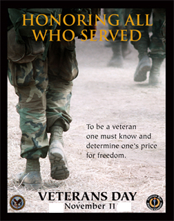 Honoring All Who Served. Thank a Vet Today!