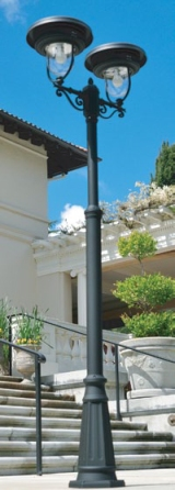 Solar Lamp Strong Enough for Heavily Used Public Space