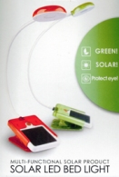 Solar Reading Light: Bright Enough for Reading without Disturbing Roomies