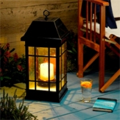 Our San Raphael Lanterns, Relatively New, are Great for Evening Dinners or Drinks