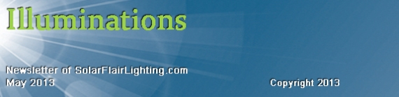 Banner for May 2013 Illuminations Newsletter