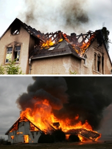 Burning Houses