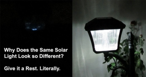 Even the Best Solar Lights Get Tired