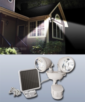 Spring Tips for Solar Lights with Motion Sensors and/or Adjustable Panels
