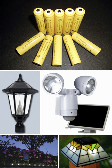New Batteries: Often a Quick Fix for Solar Lights
