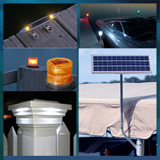Just some of the new products now in stock at SolarFlairLighting.com