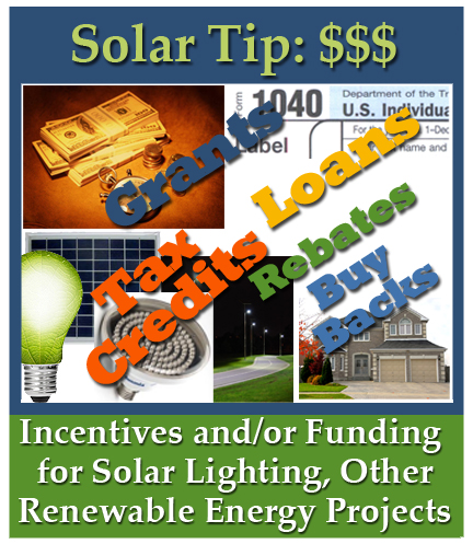 renewable energy incentive programs for solar water heater, tax incentives for outdoor solar lights