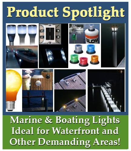Product Spotlight on Marine and Boating Solar Lights